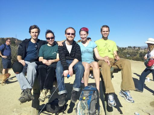 A Squinty Photo On The Runyon Canyon Hike