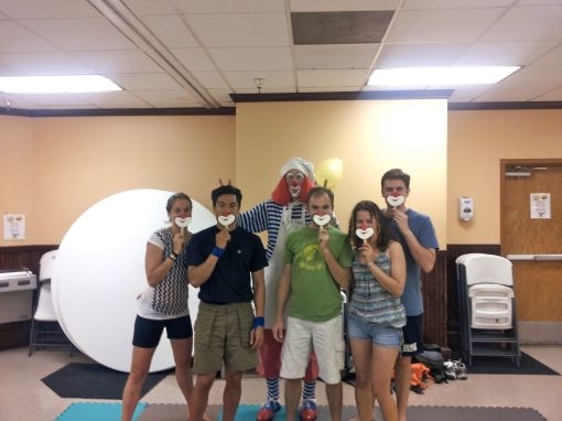 Honorary Clowns - Smiling Behind Our Masks :-)