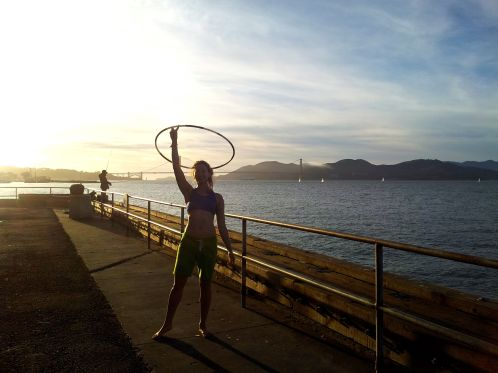 Hooping by the San Fran Bay
