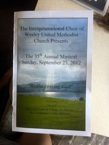 I Performed at the Annual Concert - Huge Turnout & Full Choir Attendance - No Video of That One Though